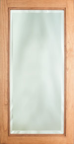 Beveled Mirror with Bead Edge