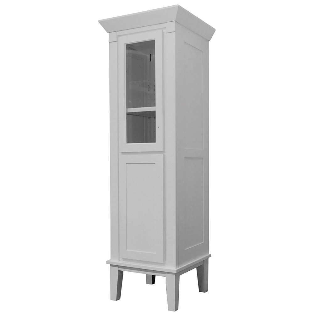 "Heirloom 18"" Linen Tower - 2 Door Hinge Left"