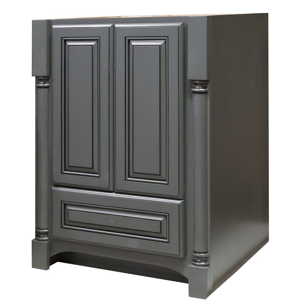 "Nottingham 24"" Vanity 2 Door 1 Drawer 33 1/2"""