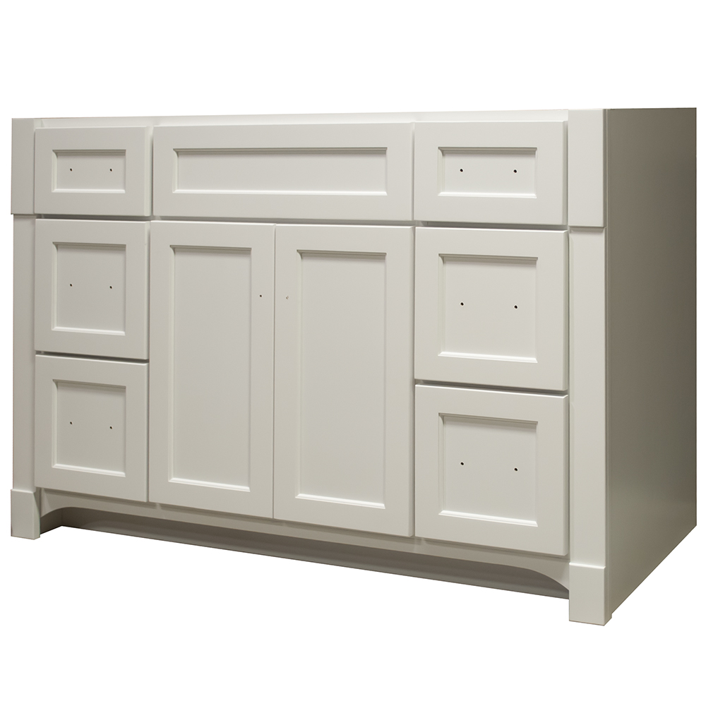 "Heirloom 48"" Vanity 2 Door 6 Drawer 33 1/2"""